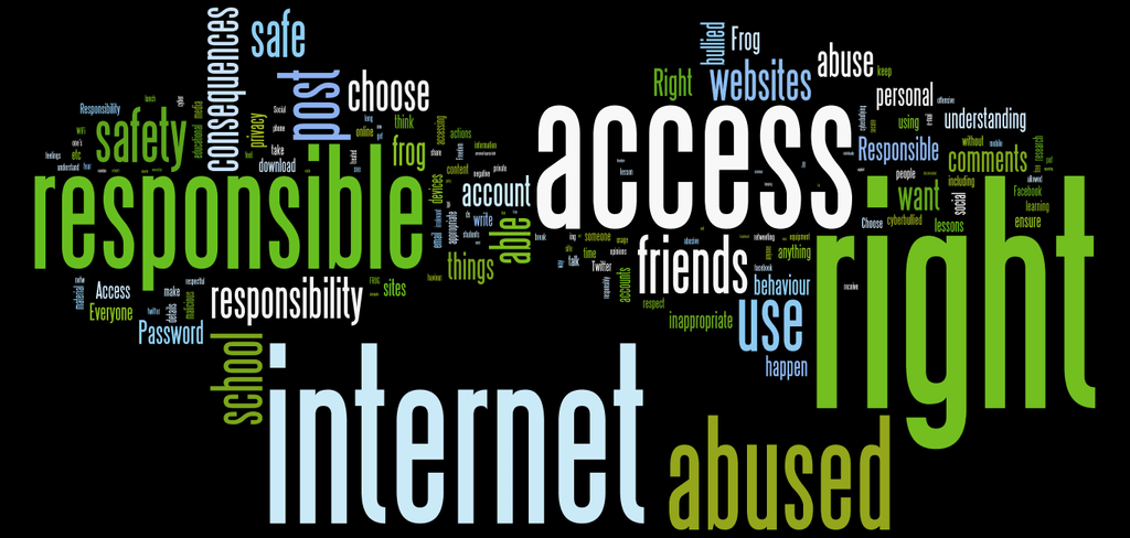 eSafety Wordcloud